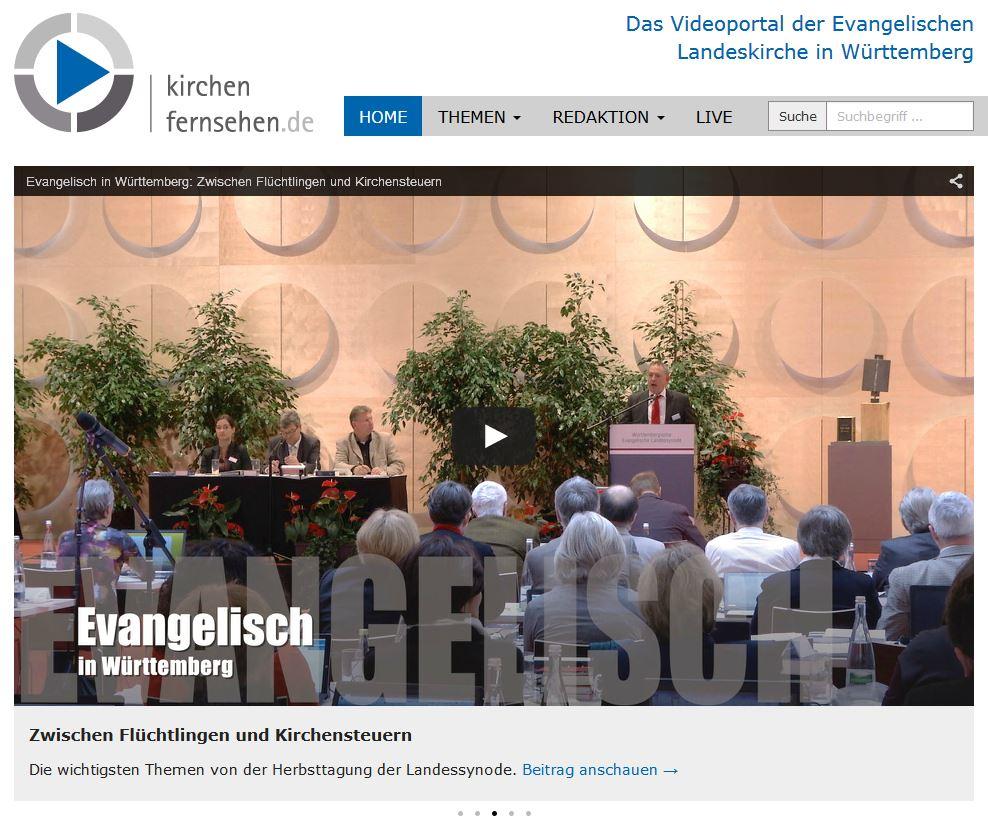 Kirchenfernsehen Startseite