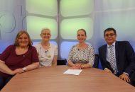 Talkshow über Nierenkrank, Probleme und Heilungschancen
