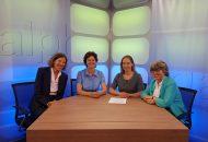 Talkshow zum Thema Frauenquote und Lohndiskriminierung