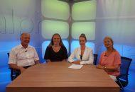 Eine Mutter, eine Apserger Autistin und der Leiter der Paulinenepflege in Winnenden sprechen mit Heidrun Lieb über das Autismus, seine Formen und Möglichkeiten