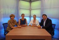 Alpha & Omega, eine Talksendung zum Thema Stadt-Land-Flucht in Stuttgart