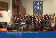 Ein Evangelischer Gottesdienst aud Baden-Württemberg zum Advent