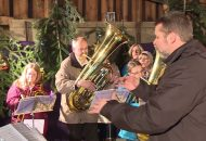 Evangelischer Weihnachtsgottesdienst in Göggingen zum Thema Flucht und Vertreibung