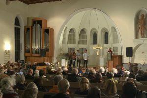 Eine Evangelischer Gottesdienst aus Baden-Württemberg, Stuttgart mit Pfarrer Ralf Vogel