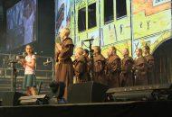 3500 Kinder singen gemeinsam in der Porsche-Arena in Stuttgart