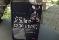 Buchautor Heiko Bräuning über sein Deadline Experiment.
