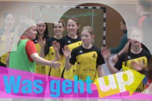 Mädchen-Handball