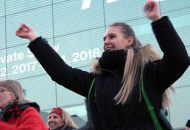 One Billion Rising auf dem Stuttgarter Schlossplatz