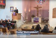 Mundart Gottesdienst mit Manfred Mergel