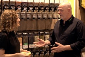 Jens-Peter Wedlich über plastikfrei Einkaufen