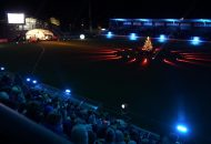 Weihnachtssingen im Gazi Stadion