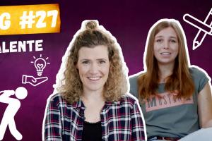Talente - Begabung oder Ehrgeiz? Bild zeigt Juliane und Clarissa aus der #BRENZWG sitzend