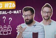 Bild zeigt Achim und Jens aus der #BRENZWG. Die beiden testen den Sozial-O-Mat